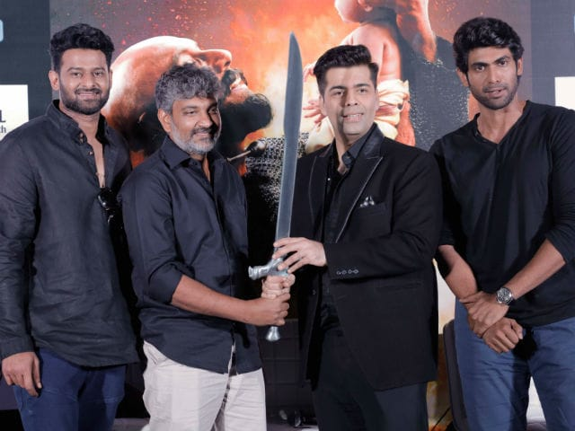 Baahubali 2: S S Rajamouli Presents Katappa's Sword To...