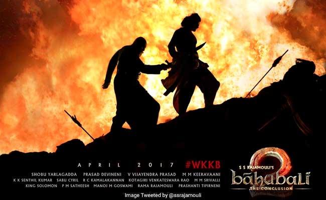 बाहुबली 2 : 24 घंटे में 5 करोड़ से ज्यादा बार देखा गया एसएस राजामौली की फिल्म का ट्रेलर