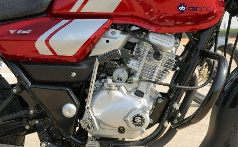 bajaj v12 gets 125 cc engine