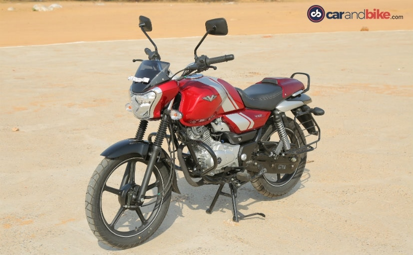 bajaj v12 gets a fat fuel tank odd headlight