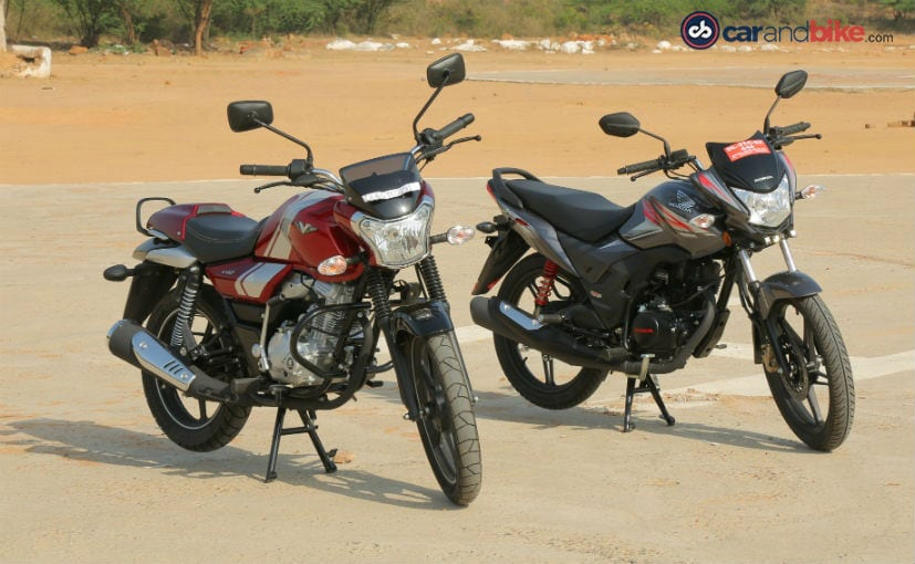 Image result for Bajaj V12 Vs Honda CB Shine SP: Comparison Review