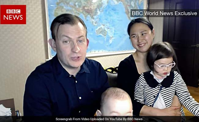 'I'm So Through With This': BBC Dad Laments Online Fame