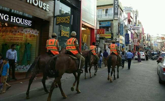 benlauru mounted police