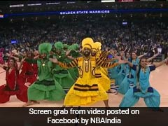'Balle Balle' On Basketball Court. Bhangra Dominates NBA Halftime Show
