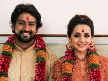 "Actress Bhavana Engaged To Naveen, Celebs Wish Them ""Lifetime Of Happiness"""
