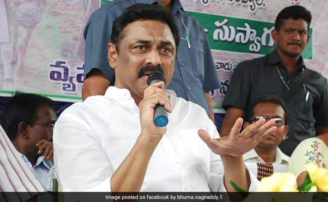 TDP Legislator Bhuma Nagi Reddy Dies Of Cardiac Arrest
