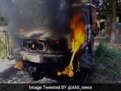 भोजपुर : आरोपी की हिरासत में मौत, गुस्साई भीड़ ने पुलिस थाने में आग लगाई