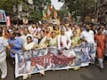 BJP Protests Against Trinamool Congress Leaders Seen In Narada Sting