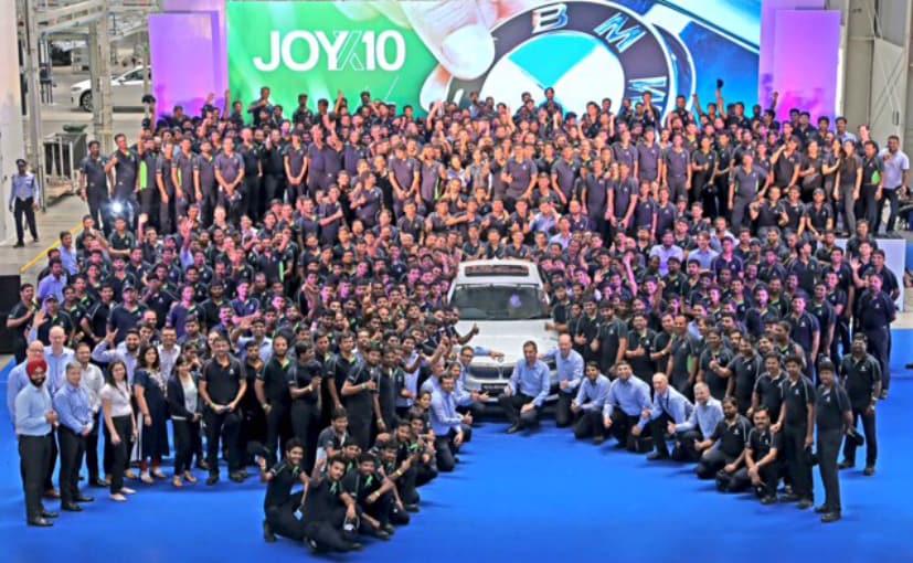 BMW Chennai Factory Celebrates 10th Birthday