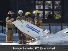 One Dead As Mid-Air Planes Collide Over Shopping Mall In Canada
