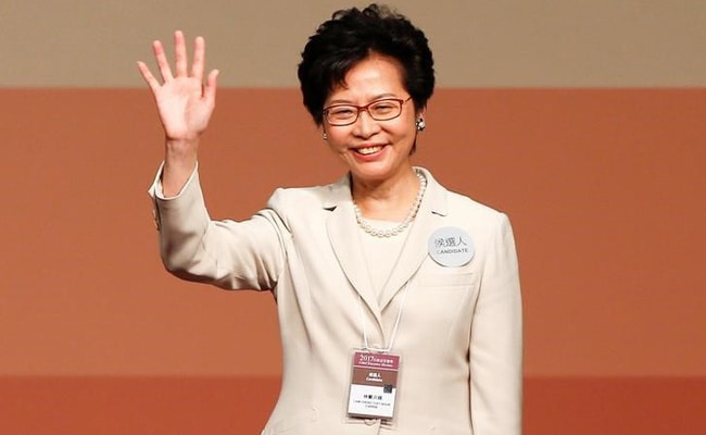 Carrie Lam, in a nod to Beijing, wins Hong Kong leadership race