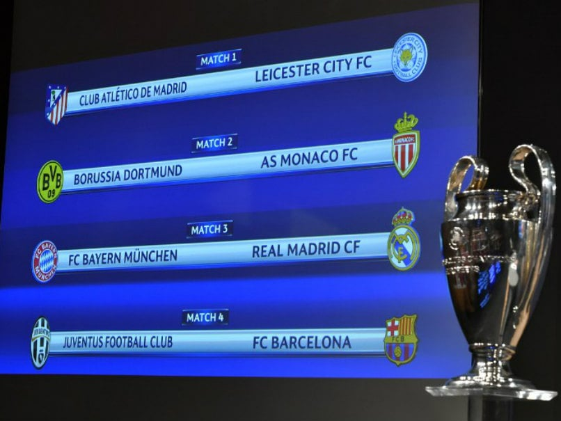 Champions League Draw: Real Madrid Face Bayern Munich, Leicester City Take On Atletico Madrid In Quarters
