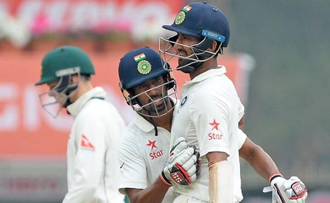 INDvsAUS 3rd Test : पुजारा के 'दोहरे' प्रहार, साहा के शतक से भारत को 152 की बढ़त, जडेजा भी छाए