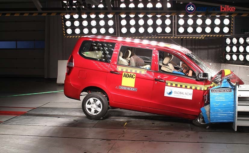 chevrolet enjoy crash test