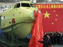 Chinese Aircraft AG600 Completes First Water Takeoff