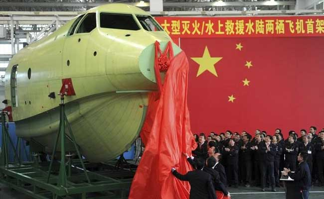 China Build Amphibious Aircraft To Get Wings In May