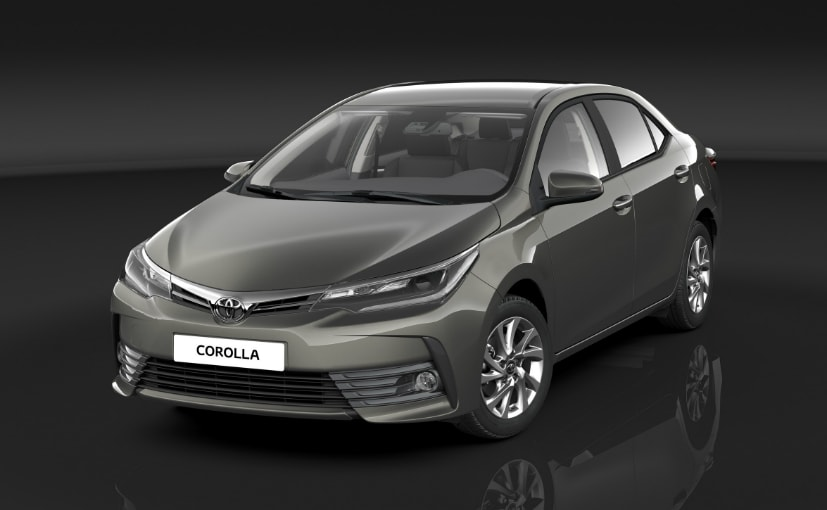 toyota corolla altis facelift launch date revealed ndtv carandbike. Black Bedroom Furniture Sets. Home Design Ideas