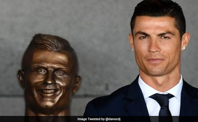 'Bust' Of All Jokes: Bizarre Cristiano Ronaldo Statue Mocked On Twitter
