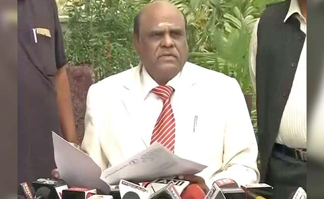 Being Targeted As I'm A Dalit: Calcutta High Court Judge Justice CS Karnan On Supreme Court-Ordered Warrant