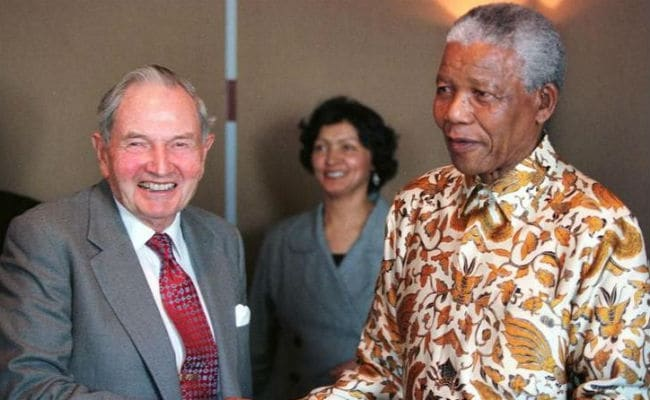 Billionaire Philanthropist David Rockefeller Dead At 101