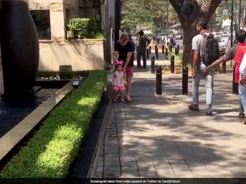 Watch What Happened When David Warner Went For A Walk With Daughter Ivy In Bengaluru