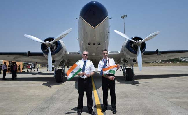 Oldest Plane, From 1940s, Flying Around Globe, Lands In Nagpur