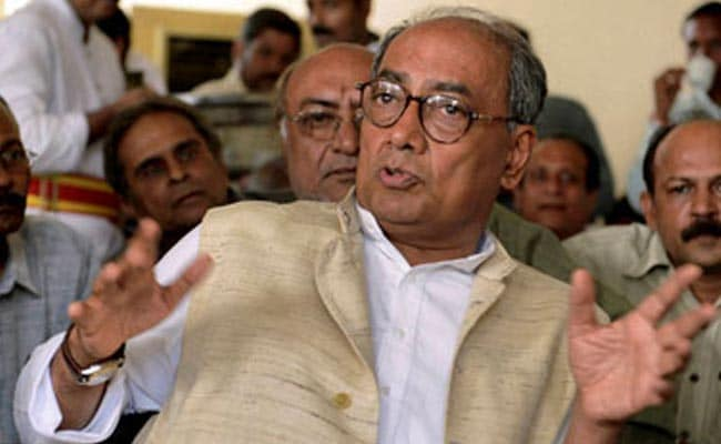 Not Bothered About BJP Plan To File Defamation Suit: Digvijaya Singh