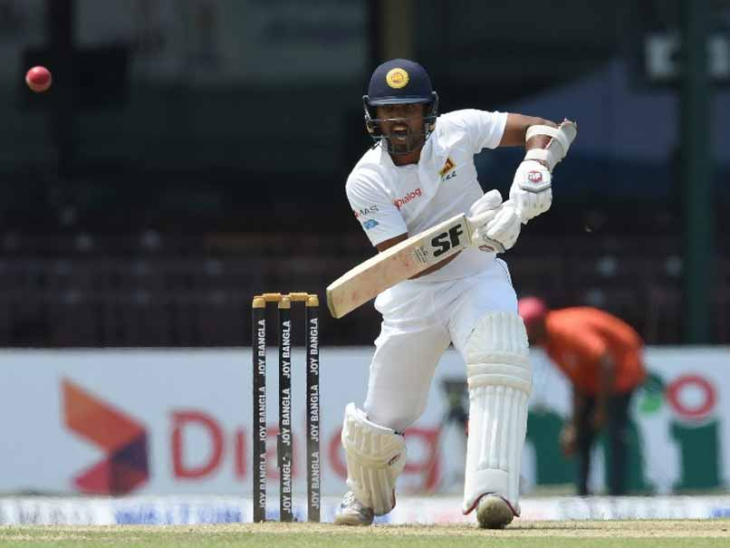 Sri Lanka Skipper Dinesh Chandimal To Miss India Test