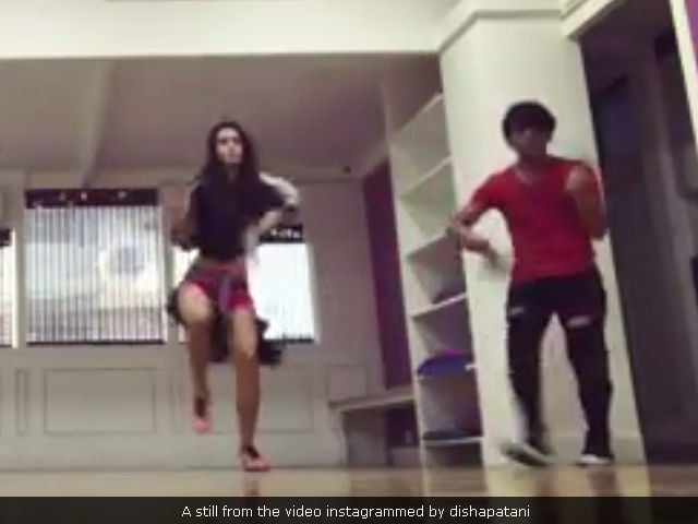 Watch Disha Patani dance flawlessly to Ed Sheeran's Shape of You