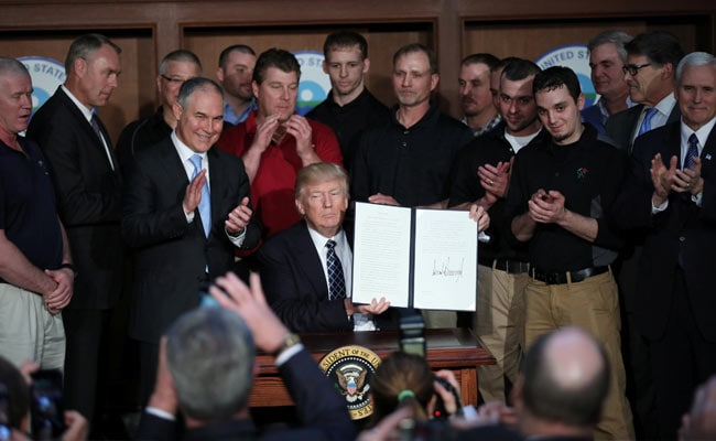 Environmental groups vowing to fight Trump climate actions