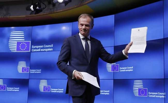 'Thanks And Goodbye', EU President Donald Tusk's Message For Britain