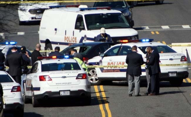 Woman Arrested For Driving Into Police Car Near US Capitol
