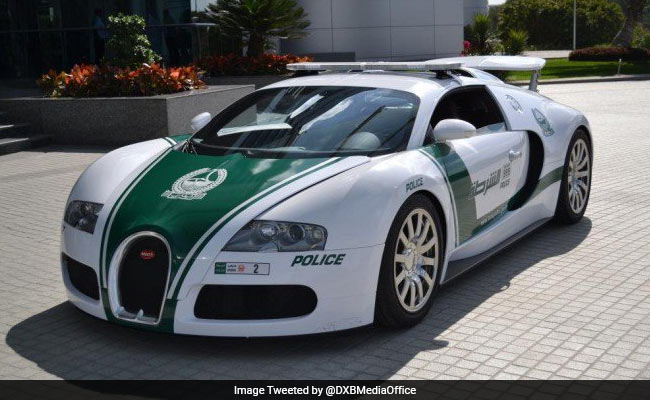 At 407 Kms Per Hour, Dubai Is Home To The World's Fastest Police Car
