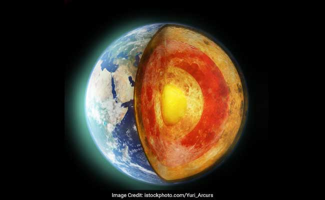 Earth 39 s mantle 60 degrees hotter than thought study for Interieur de la terre