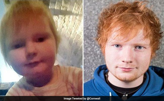 The Internet Thinks This 2-Year-Old Looks Like Ed Sheeran
