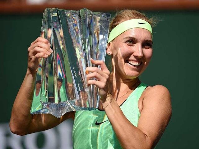 Elena Vesnina Beats Svetlana Kuznetsova to Win Indian Wells WTA Title