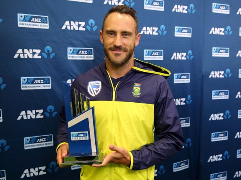 Faf du Plessis To Lead World XI Against Pakistan In Independence Cup