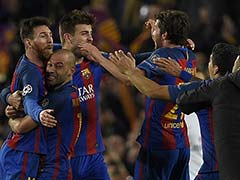 FC Barcelona Hit Paris Saint-Germain For Six In Historic Late Champions League Fightback