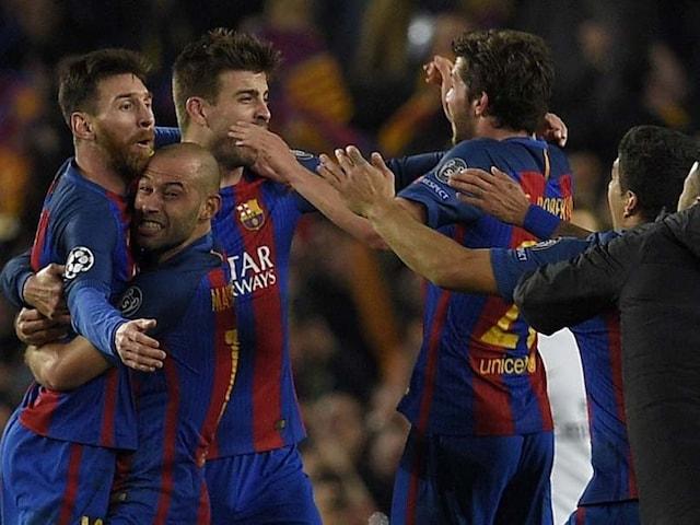 FC Barcelona Hit Paris Saint-Germain For Six In Historic Late Champions League Fightback