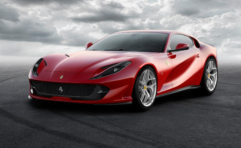 Ferrari 812 Superfast To Be Launched In India On March 10, 2018