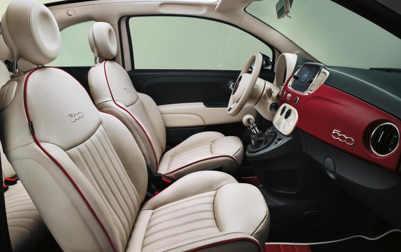 fiat 500 60th anniversary edition cabin