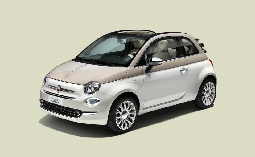 Limited Edition Fiat 500-60th Launched To Celebrate The 60th Anniversary Of Fiat 500
