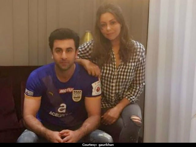 Ranbir Kapoor Thanks Gauri Khan For Putting His 'First Home' Together
