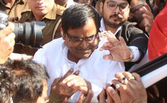Gayatri Prajapati, Rape-Accused Samajwadi Leader, Now Charged With Cheating