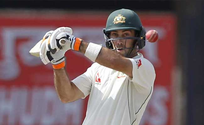 glenn maxwell ranchi test india vs australia 650