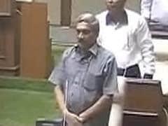 मुख्यमंत्री मनोहर पर्रिकर ने गोवा विधानसभा में साबित किया बहुमत, 22 मत पक्ष में पड़े