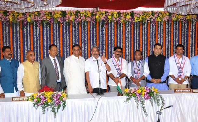 BJP's New Goa Allies Get Most Berths In Manohar Parrikar's Cabinet