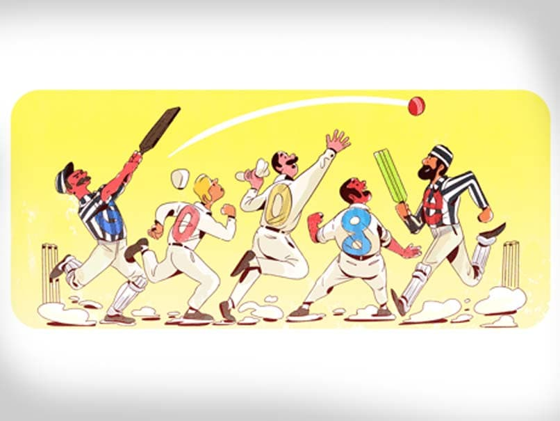 When Was The First Test Match Played? Google Doodle
