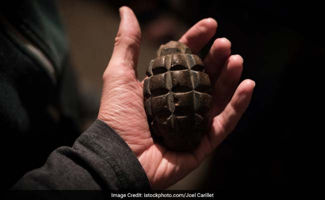 Live Grenade Found In Mathura, Defused