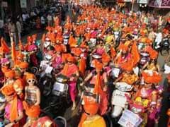 Maharashtra School Organises School Enrolment Drive On Gudi Padwa
